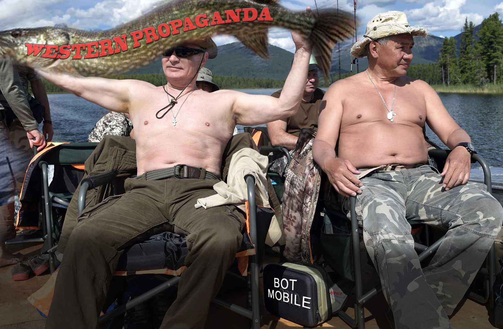 **BREAKING** KREMLIN BOTS TAKE VACATION – WORLD SAVED FOR NANOSECONDS