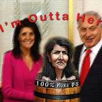 UN Ambassador Haley Resigns after Reading Highly Likely News Article