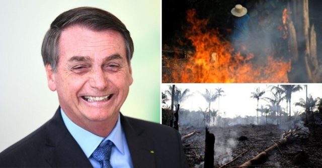 bolsanaro laughs