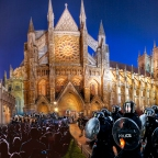 Police and Military Raid St Pauls, Westminster Abbey and Winchester Cathedral